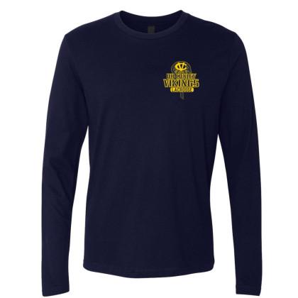 DH Conley Lacrosse Long-Sleeve T-Shirt | Small Logo | Multiple Colors
