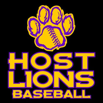 Host Lions Baseball Car Window Sticker