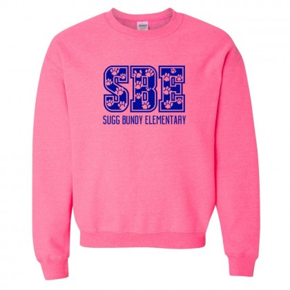 Sugg Bundy Elementary Sweatshirt | SBE Paws | Multiple Colors