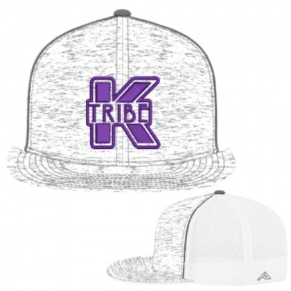 Kiwanis K Tribe Fitted Heather Mesh Trucker Hat