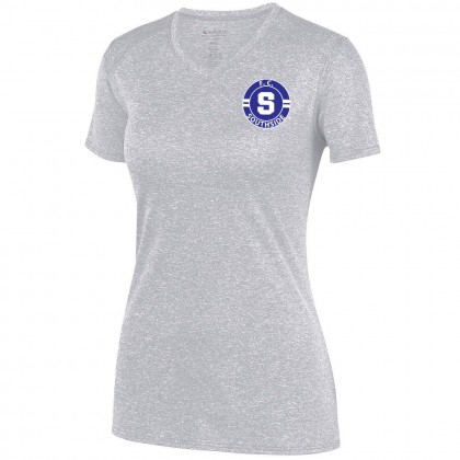 FC Southside Ladies Kinergy Performance Tee | Heather Silver