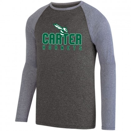 Carter Hornets Design Long-Sleeve Performance Raglan T-Shirt | Multiple Colors