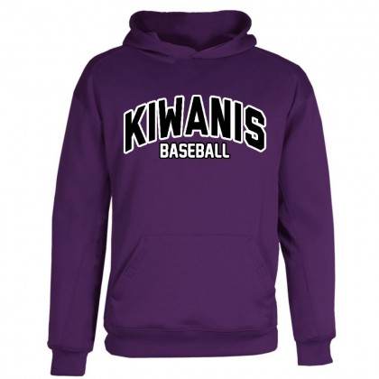 Kiwanis Performance Hoodie | Purple