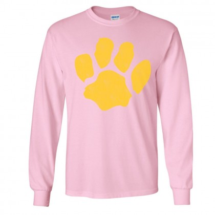 Sugg Bundy Elementary School Long-Sleeve Tee | Distressed Paw