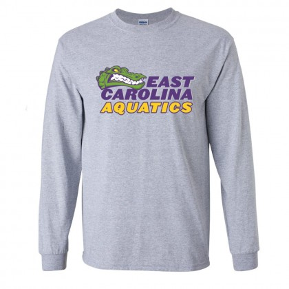ECA Gators Swimming Long-Sleeve Cotton Tee | Multiple Colors