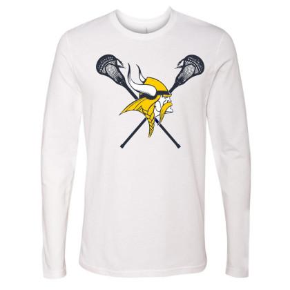 DH Conley Lacrosse Long-Sleeve T-Shirt | Large Logo | Multiple Colors