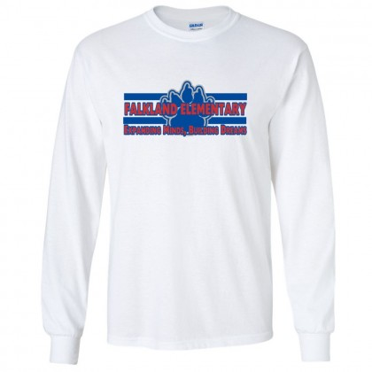 Falkland Long-Sleeve Cotton Tee | Minds & Dreams | Multiple Colors
