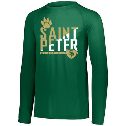 Saint Peter Wildcats Long-Sleeve Performance Tee | Multiple Colors