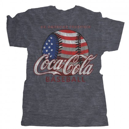 Coca-Cola, An American Tradition Tri-Blend Cotton Tee