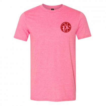 Falkland Elementary Cotton Tee | Monogram Logo | Multiple Colors