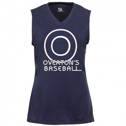 Overton's Ladies Sleeveless V-Neck Performance Tee