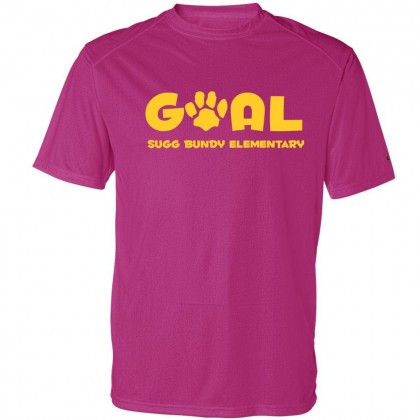 Sugg Bundy Basic Performance Tee | Goal Logo |  Multiple Colors