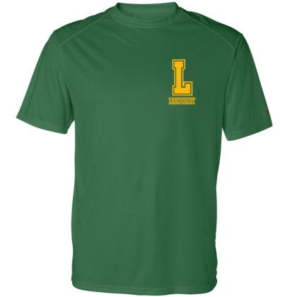 Lakeforest Basic Performance Tee | Collegiate L Logo |  Multiple Colors