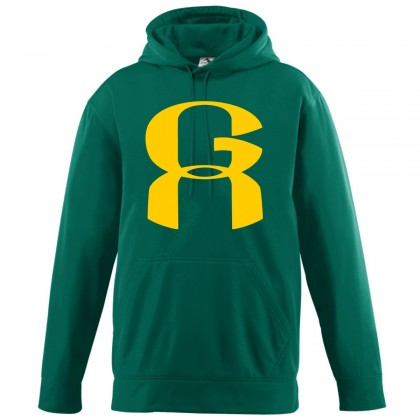 Greenville A's Performance Hoodie   Green
