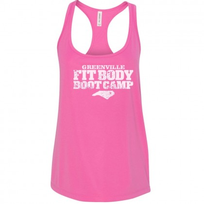 Fit Body Boot Camp Wicking Racer Back Women's Tank Top | Multiple Colors