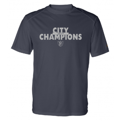 Physicians East 2017 City Champions Performance or Cotton Shirt