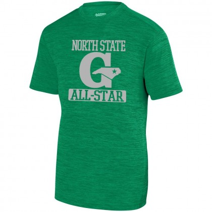 GLL All-Stars Player Tonal Heather Tee | North State | Center Logo