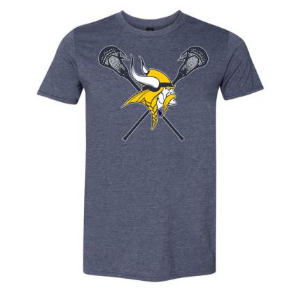 DH Conley Lacrosse Cotton Tee | Large Logo | Multiple Colors