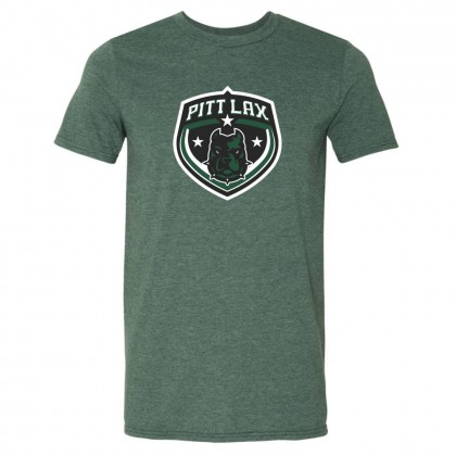 Pitt County Lacrosse Cotton Tee | Shield Logo | Multiple Colors