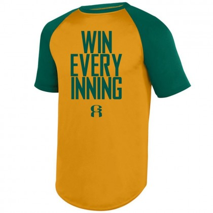 Win Every Inning | Greenville Athletics Short Sleeve Raglan Performance Tee