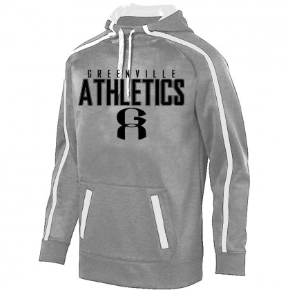 GA Stoked Tonal Heather Performance Hoodie | Word Logo | Youth & Adult Sizes