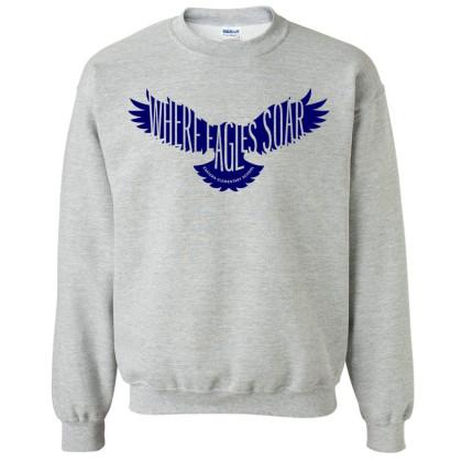Eastern Elementary Crewneck Sweatshirt | Grey