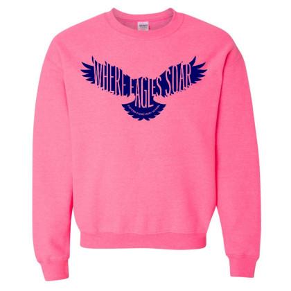 Eastern Elementary Crewneck Sweatshirt | Pink