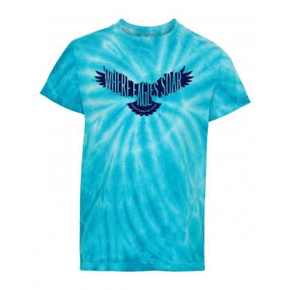 Eastern Elementary Tie-Dyed Tee | Royal