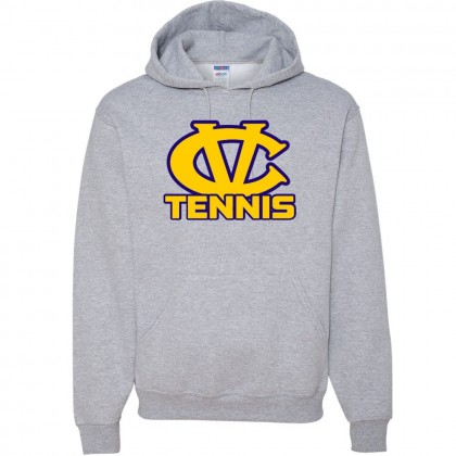 DH Conley Cotton Hooded Sweatshirt | CV Tennis Logo | Multiple Colors
