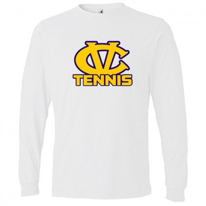 DH Conley Tennis Long Sleeve T-Shirt | CV Tennis Logo | Multiple Colors