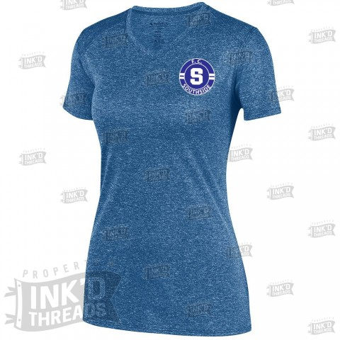 FC Southside Ladies Kinergy Performance Tee | Heather Navy