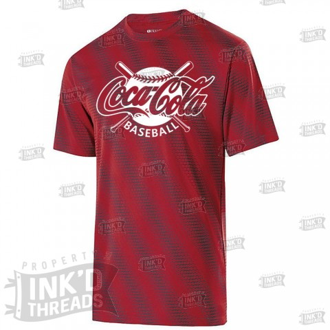 Coke Torpedo Tee | Crossed Bats Logo
