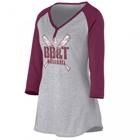 BB&T Ladies Henley Shirt