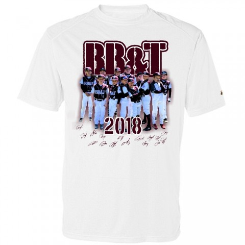 BB&T Baseball 2018 Roster Performance or Cotton Shirt | 2 Design Options