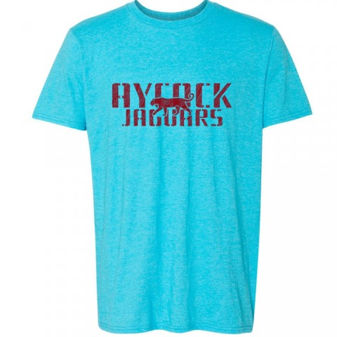 EB Aycock Cotton Tee | Aycock Distressed Logo | Multiple Colors