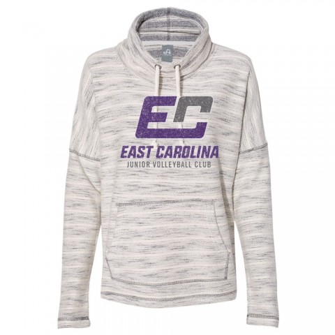 ECJVC Baja French Terry Hooded Pullover