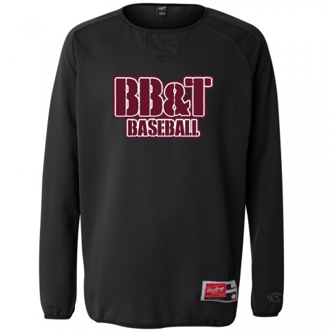 BB&T Rawlings Long Sleeve Flatback Mesh Fleece Pullover