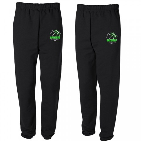 Oakwood Basketball Cotton Sweatpants | Multiple Colors