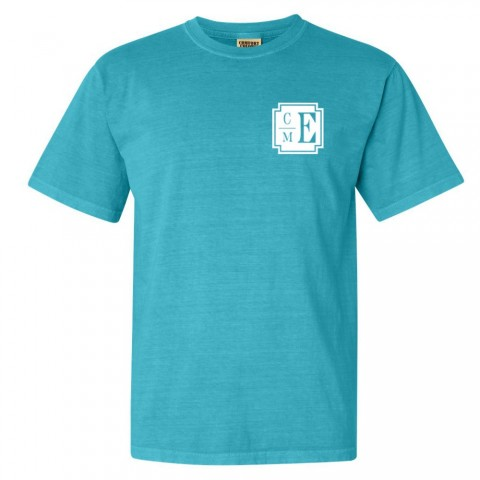 CM Eppes Comfort Colors Tee | Monogram | Multiple Colors