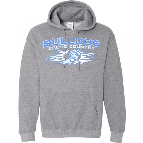 C.M. Eppes Cotton Hooded Sweatshirt   Cross Country