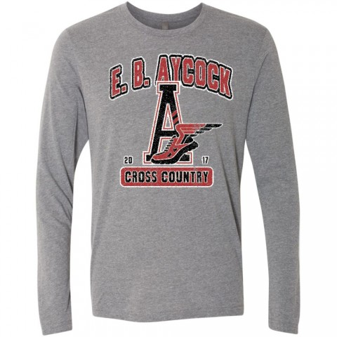 EB Aycock Cross Country Long-Sleeve Tee