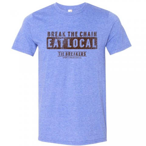 Break the Chain Tie Breakers Logo Tee | Size for Whole Family