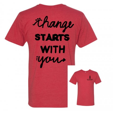 Change Starts with Me | 100% Proceeds Benefit EB Aycock AIG