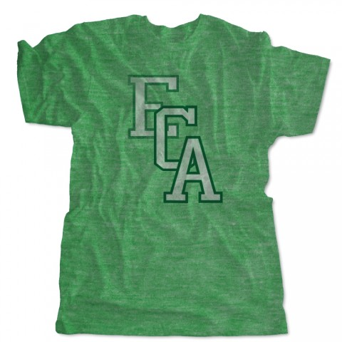 EC Auto Distressed Logo Tee | Green | Sizes for Whole Family