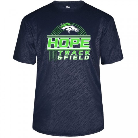 Hope Track & Field Short-Sleeve Torpedo Performance Tee | Multiple Designs