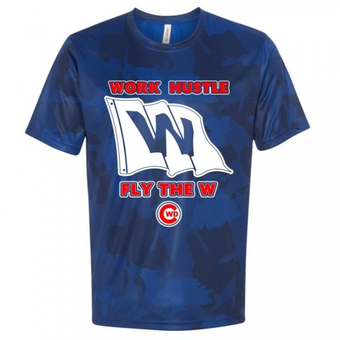 CWD Fly the W Laser Camo Tee