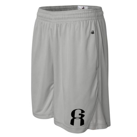GA Coaching Shorts | Silver