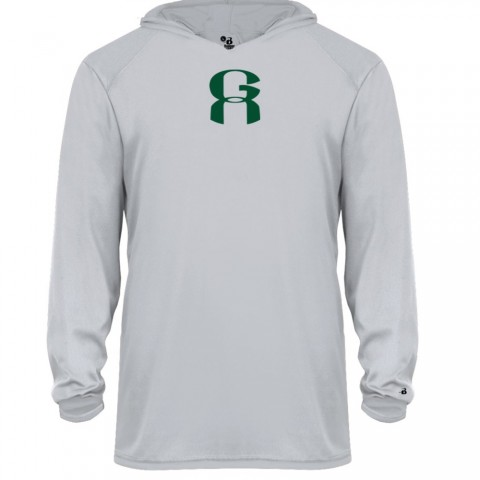 GA Long-Sleeve Hoodie Performance Tee | Multiple Colors