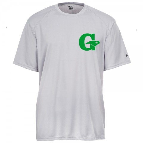 GLL All-Stars Performance Tee | Silver/Grey | Chest Logo