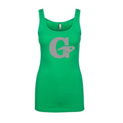 GLL All Stars Ladies Tank Top   Grey Print
